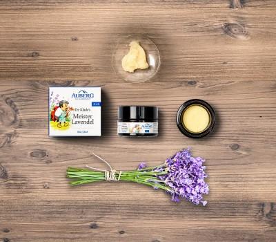 Auberg_Produktcollage_Meister_Lavendel