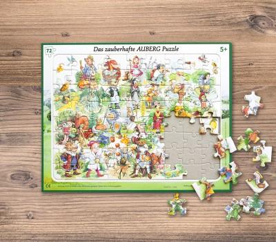 Auberg-Produktcollage-Puzzle