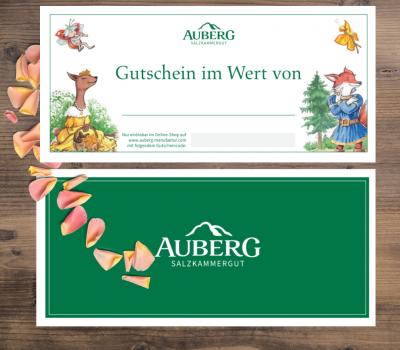 Template WEbshop Gutschein